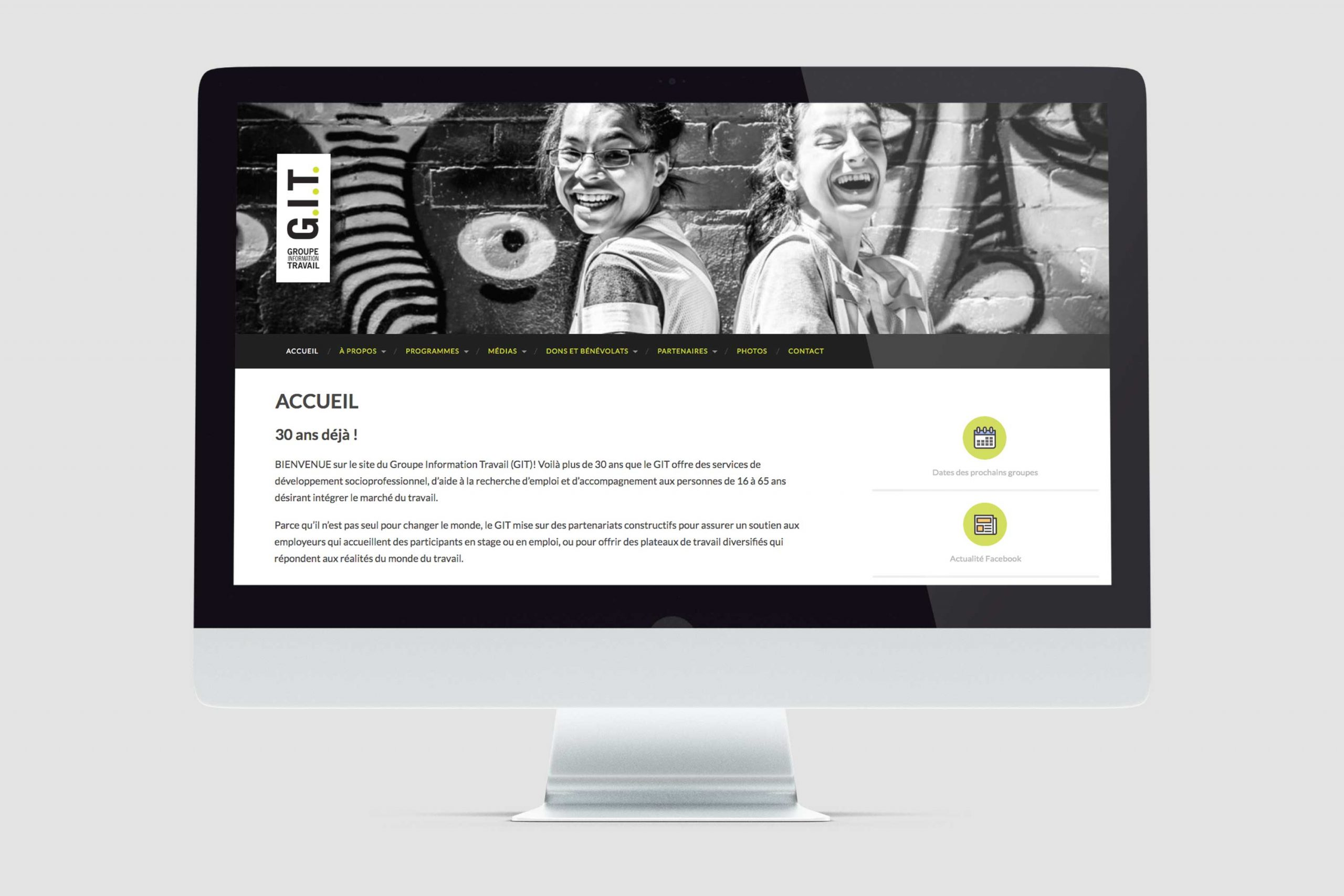 Mailys ORY - Graphiste | Web - Groupe Information Travail
