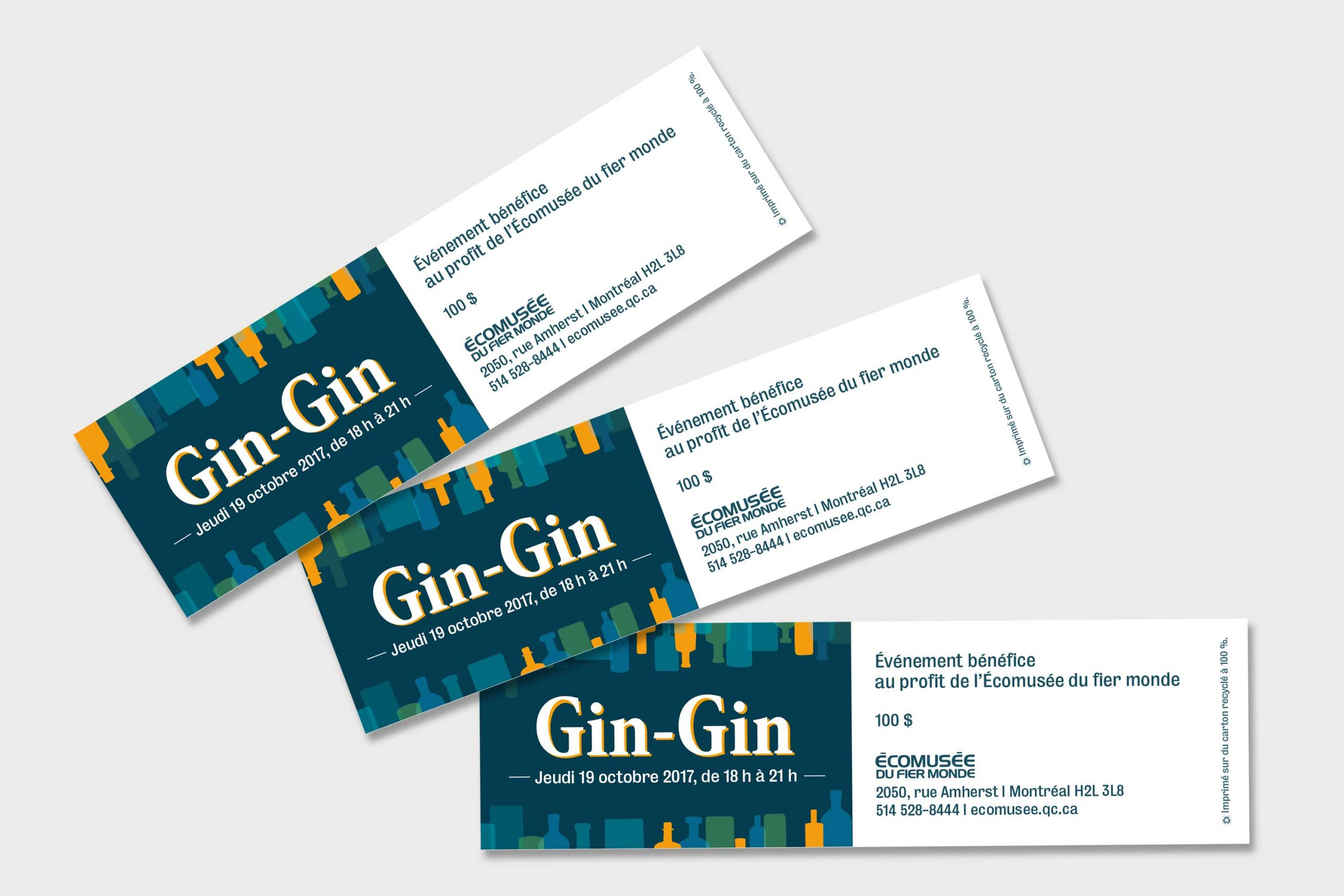Mailys ORY - Graphiste | Outils promotionnels - Gin-Gin
