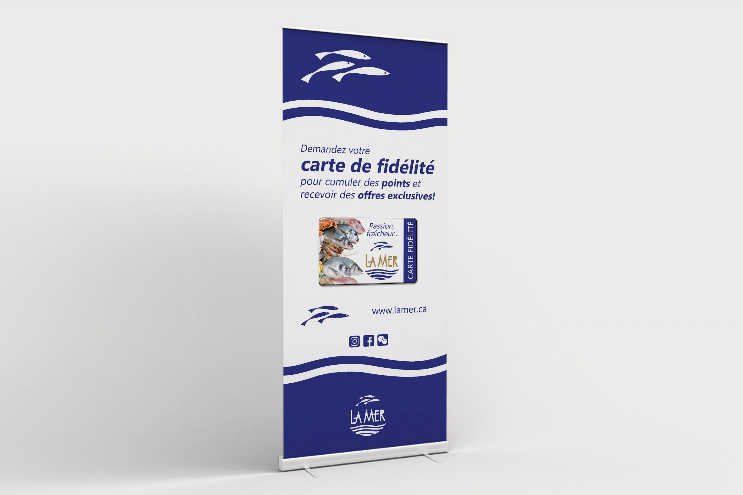 Mailys ORY - Graphiste | Outils promotionnels - La Mer