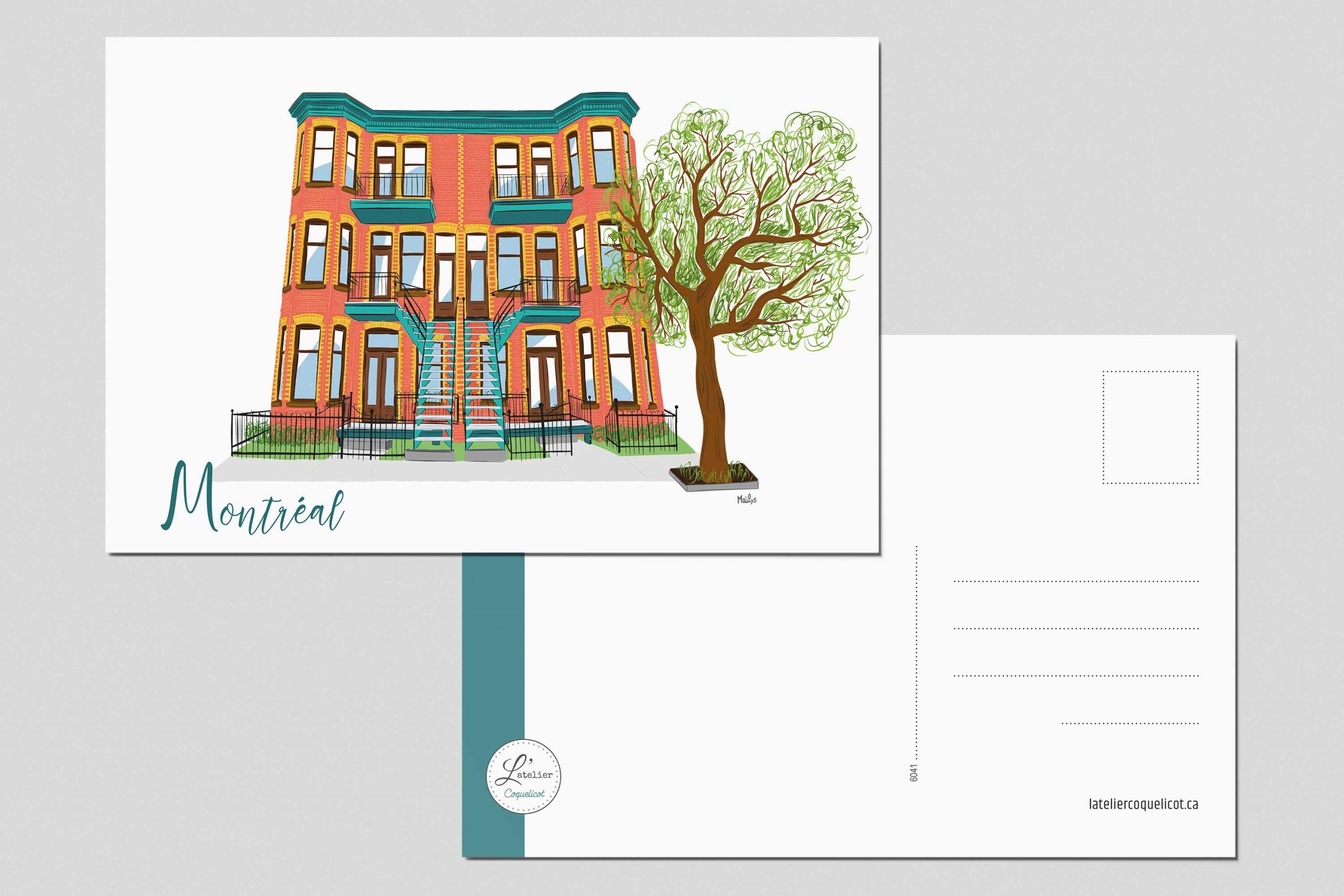 Mailys ORY - Graphiste | Illustration - Architecture montréalaise
