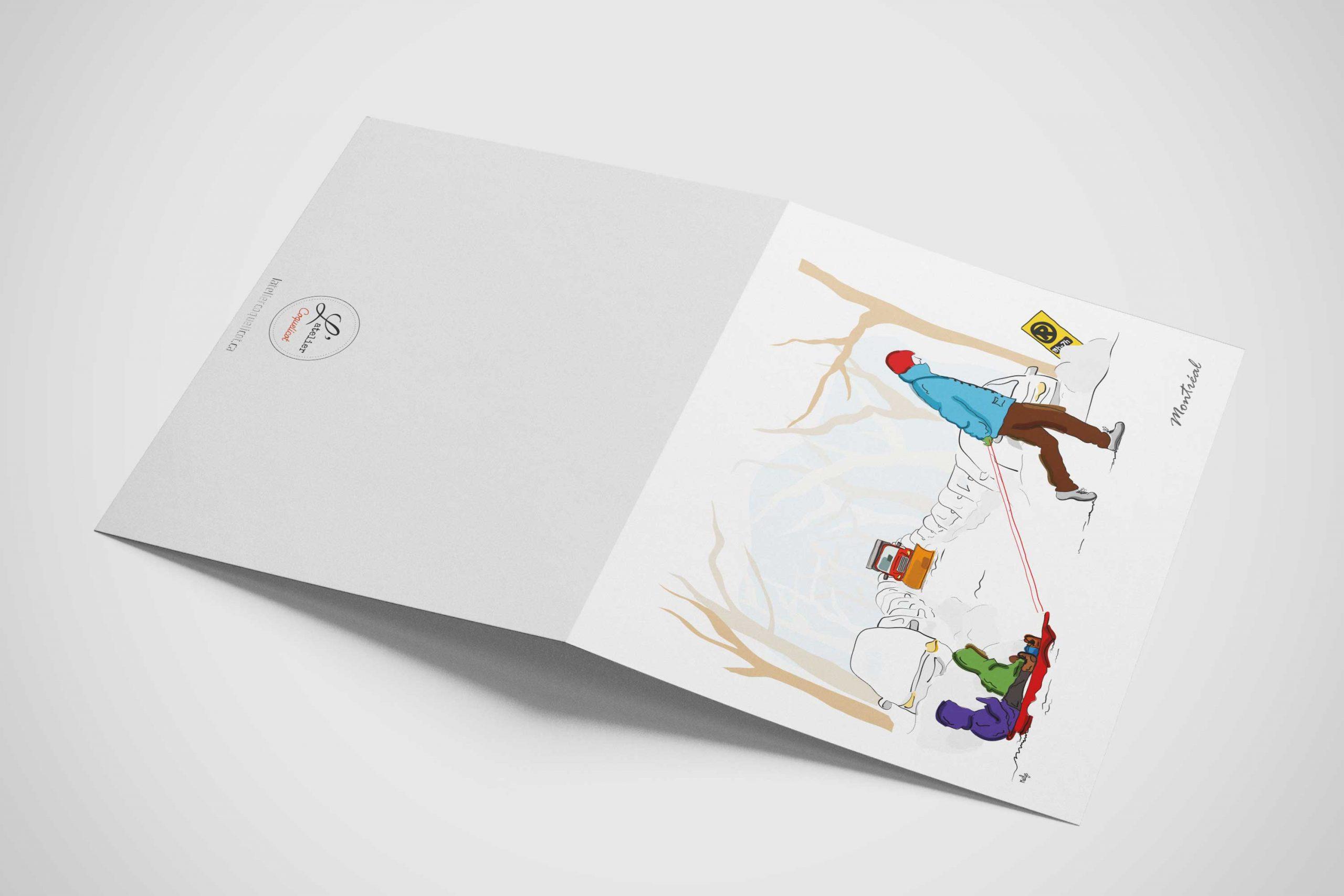Mailys ORY - Graphiste | Illustration - Plaisirs d'hiver
