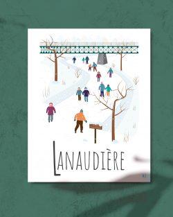 Mailys ORY - Graphiste | Illustration - Affiche 8 x 10 po - Lanaudière