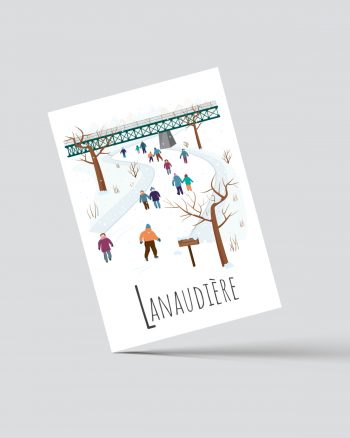 Mailys ORY - Graphiste | Carte postale - Lanaudière