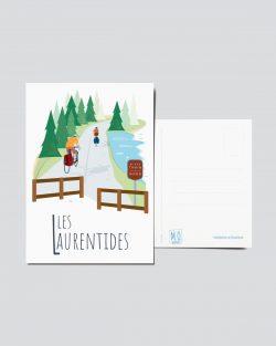 Mailys ORY - Graphiste | Illustration - Carte postale - Les Laurentides