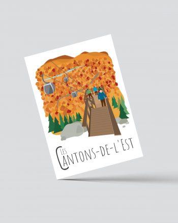 Mailys ORY - Graphiste | Illustration - Carte postale - Les-Cantons-de-l'Est