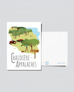 Mailys ORY - Graphiste | Illustration - Carte postale - Chaudière-Apappalches