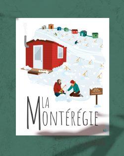 Mailys ORY - Graphiste | Illustration - Affiche - La Montérégie