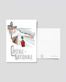 Mailys ORY - Graphiste | Illustration - Carte postale - La Capitale-Nationale