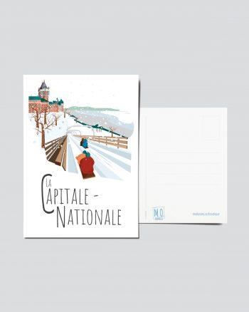 Mailys ORY - Graphiste   Illustration - Carte postale - La Capitale-Nationale