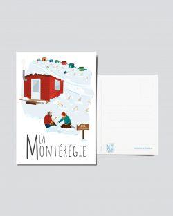 Mailys ORY - Graphiste | Illustration - Carte postale - La Montérégie