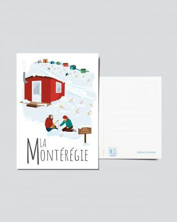 Mailys ORY - Graphiste   Illustration - Carte postale - La Montérégie