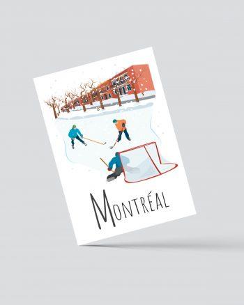 Mailys ORY - Graphiste | Illustration - Carte postale- Montréal