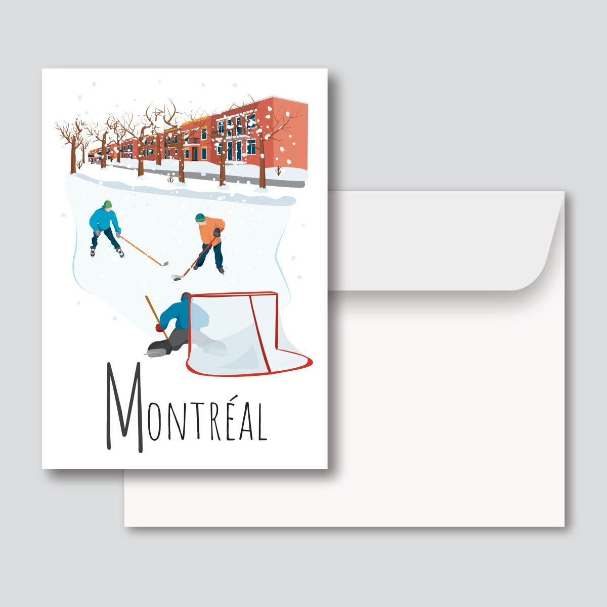 Mailys ORY - Graphiste   Illustration - Carte de souhaits 5 x 7 po - Montréal