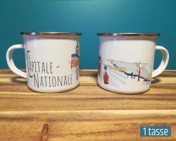 Mailys ORY - Graphiste | Illustration - Tasse en émail - La Capitale-Nationale