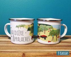 Mailys ORY - Graphiste | Illustration - Tasse en émail - Chaudière-Appalaches
