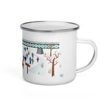Mailys ORY - Graphiste | Illustration - Tasse en émail - Lanaudière