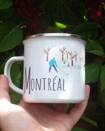 Mailys ORY - Graphiste | Illustration - Tasse en émail - Montréal