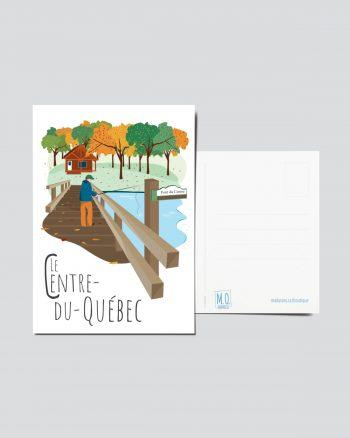 Mailys ORY - Graphiste | Illustration - Carte postale- Le Centre du Québec
