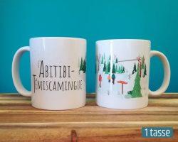Mailys ORY - Graphiste | Illustration - Tasse en céramique - L'Abitibi-Témiscamingue