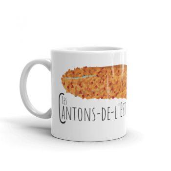 Mailys ORY - Graphiste | Illustration - Tasse en céramique - Les Cantons-de-l'Est