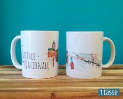 Mailys ORY - Graphiste | Illustration - Tasse en céramique - La Capitale-Nationale