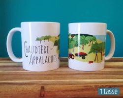 Mailys ORY - Graphiste | Illustration - Tasse en céramique - Chaudière-Appalaches