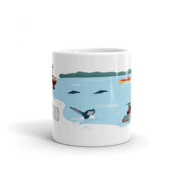 Mailys ORY - Graphiste   Illustration - Tasse en céramique - La Côte-Nord