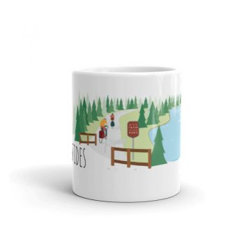 Mailys ORY - Graphiste   Illustration - Tasse en céramique - Les Laurentides