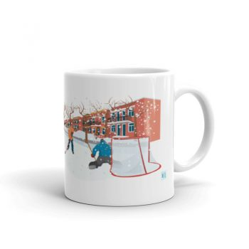 Mailys ORY - Graphiste | Illustration - Tasse en céramique - Montréal