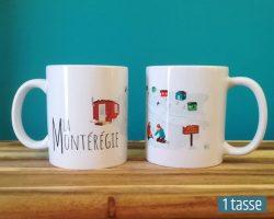 Mailys ORY - Graphiste | Illustration - Tasse en céramique - La Montérégie
