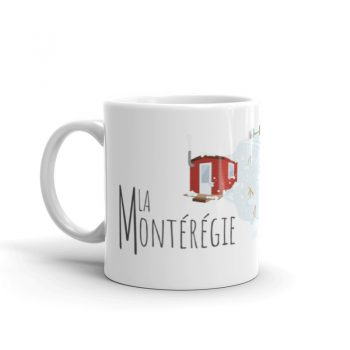 Mailys ORY - Graphiste   Illustration - Tasse en céramique - La Montérégie