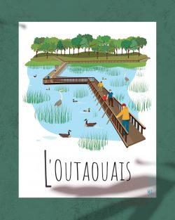 Mailys ORY - Graphiste | Illustration - Affiche 8 x10 po- L'Outaouais
