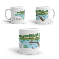 Mailys ORY - Graphiste | Illustration - Tasse en céramique - L'Outaouais