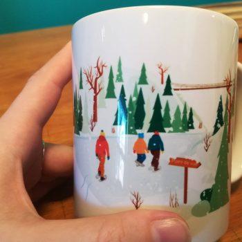 Mailys ORY - Graphiste   Illustration - Tasse en céramique - L'Abitibi-Témiscamingue