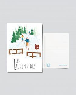 Mailys ORY - Graphiste | Illustration - Carte postale- Les Laurentides