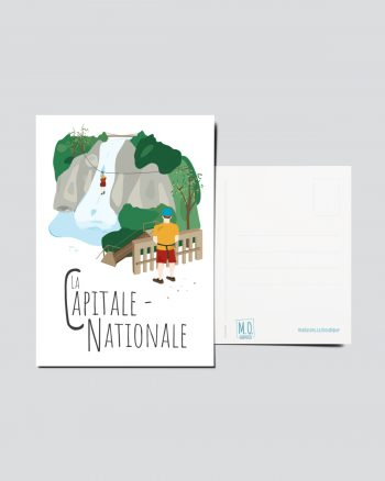 Mailys ORY - Graphiste   Illustration - Carte postale- La Capitale-Nationale