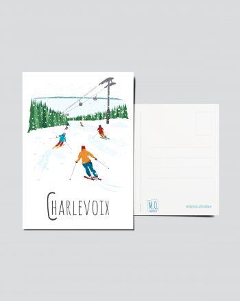 Mailys ORY - Graphiste   Illustration - Carte postale- Charlevoix