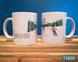 Mailys ORY - Graphiste | Illustration - Tasse en céramique - Charlevoix