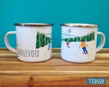 Mailys ORY - Graphiste | Illustration - Tasse en émail - Charlevoix