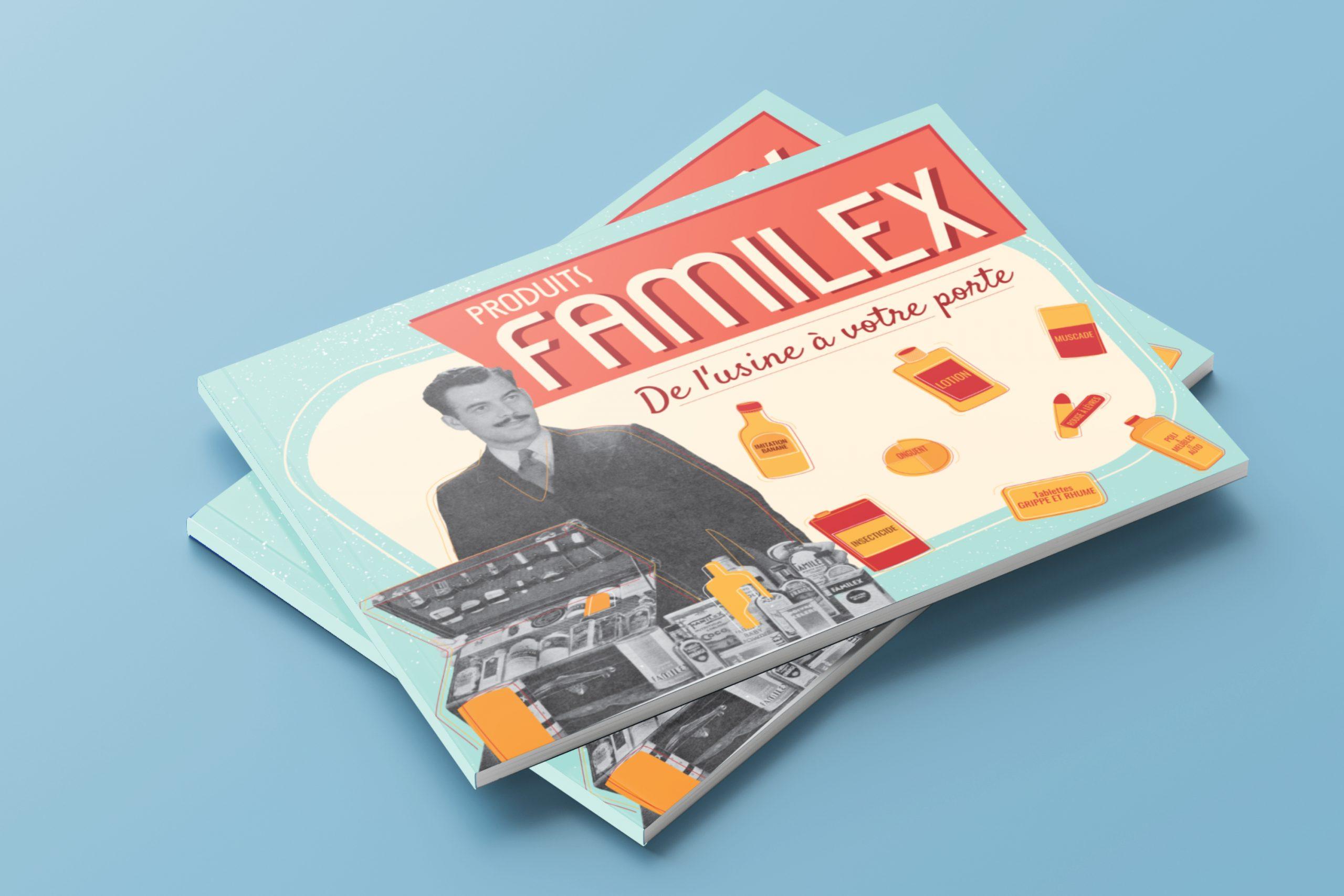 Mailys ORY - Graphiste | Produits Familex - Publication