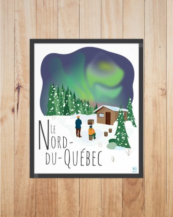 Mailys ORY - Graphiste | Illustration - Affiche - Le Nord du Québec