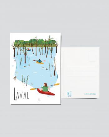 Mailys ORY - Graphiste   Illustration - Carte postale- Laval