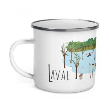 Mailys ORY - Graphiste | Illustration - Tasse en émail - Laval