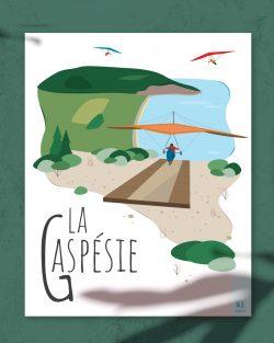 Mailys ORY - Graphiste | Illustration - Affiche - La Gaspésie