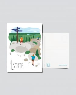 Mailys ORY - Graphiste | Illustration - Carte postale- L'Estrie