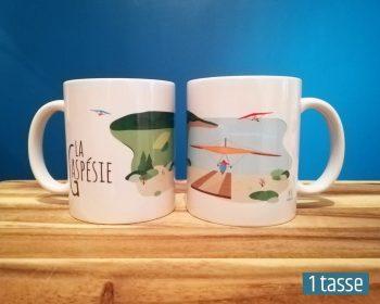 Mailys ORY - Graphiste | Illustration - Tasse en céramique - La Gaspésie