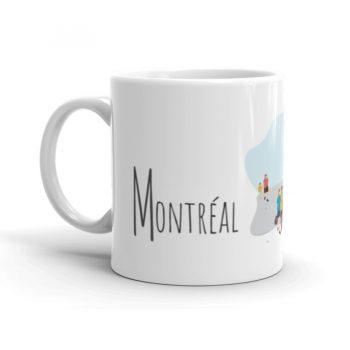 Mailys ORY - Graphiste   Illustration - Tasse en céramique - Montréal