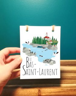Mailys ORY - Graphiste | Illustration - Carnet - Bas-Saint-Laurent