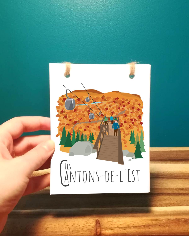 Mailys ORY - Graphiste   Illustration - Carnet - Cantons-de-l'Est