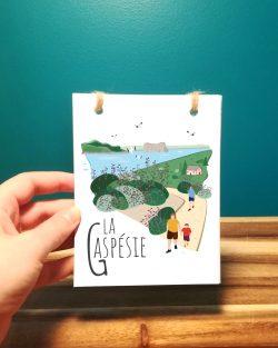 Mailys ORY - Graphiste | Illustration - Carnet - La Gaspésie